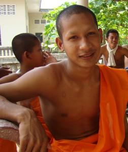 Kampong Cham monk