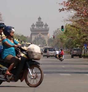 """Laotian """"Arc de Triomphe"""""""