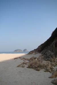 Pretty beach, isn't it?