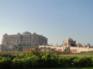 emirates palace hotel garden