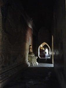 bagan temple statue