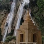 Buddhist Waterfall