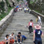 Climbing Taishan