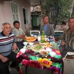 Family Dinner in Tajikistan
