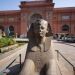 A Moment at the Egyptian Museum
