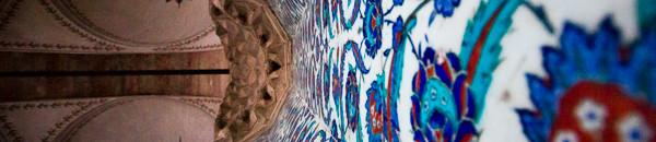 iznik tiles in rustem pasa mosque