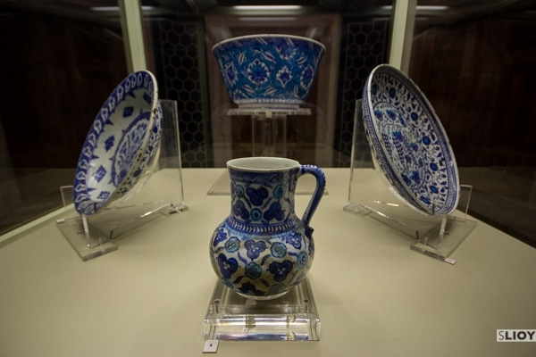 pottery at istanbul museum