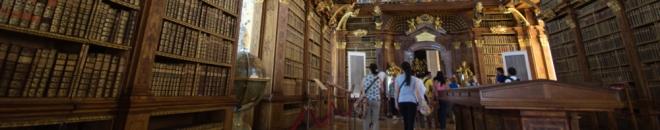 benedictine melk abbey austria library