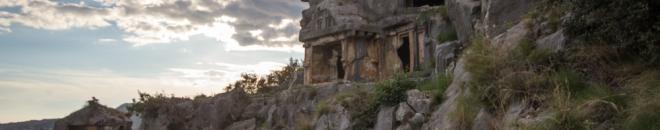 rock tombs of myra antalya
