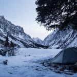 Winter in Kyrgyzstan: Snow Camping at Ala-Archa