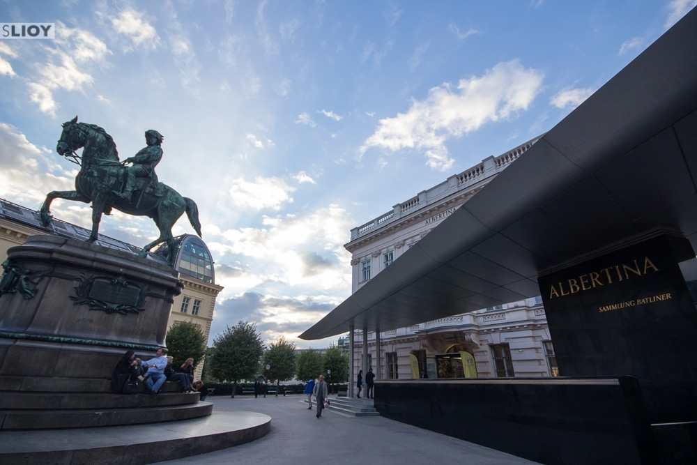 Albertina Museum Vienna Terrace