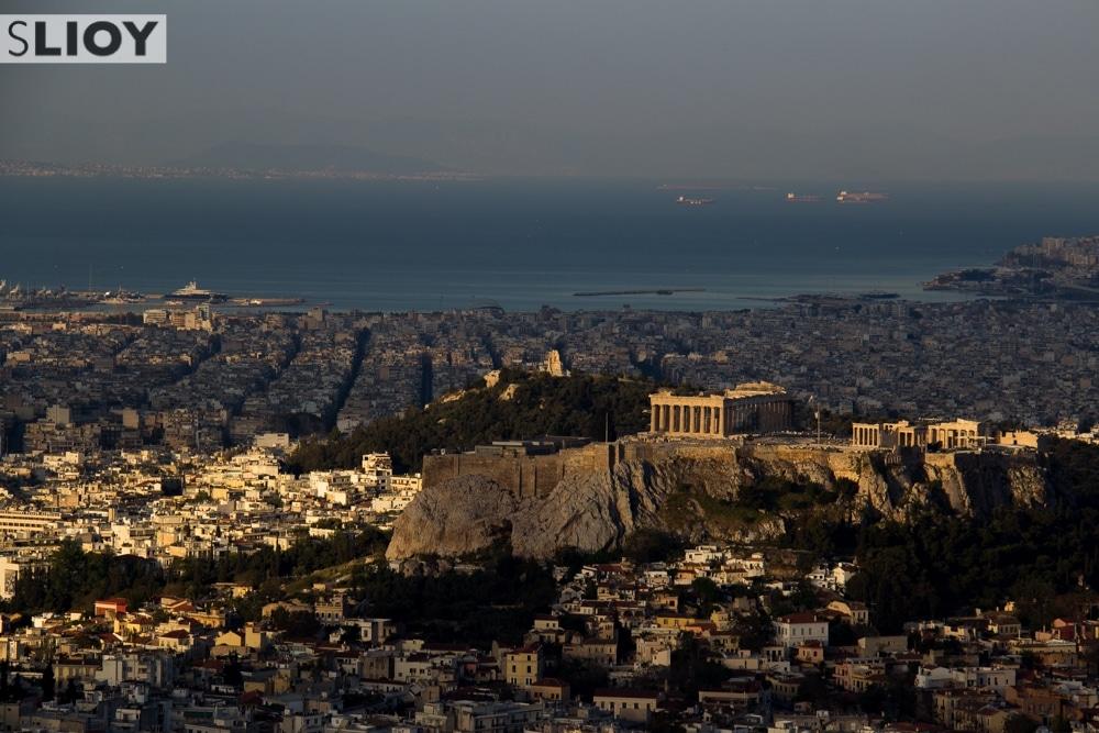Athens' Parthenon at Sunrise