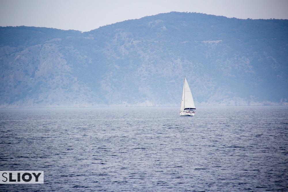 Saronic Islands in Greece