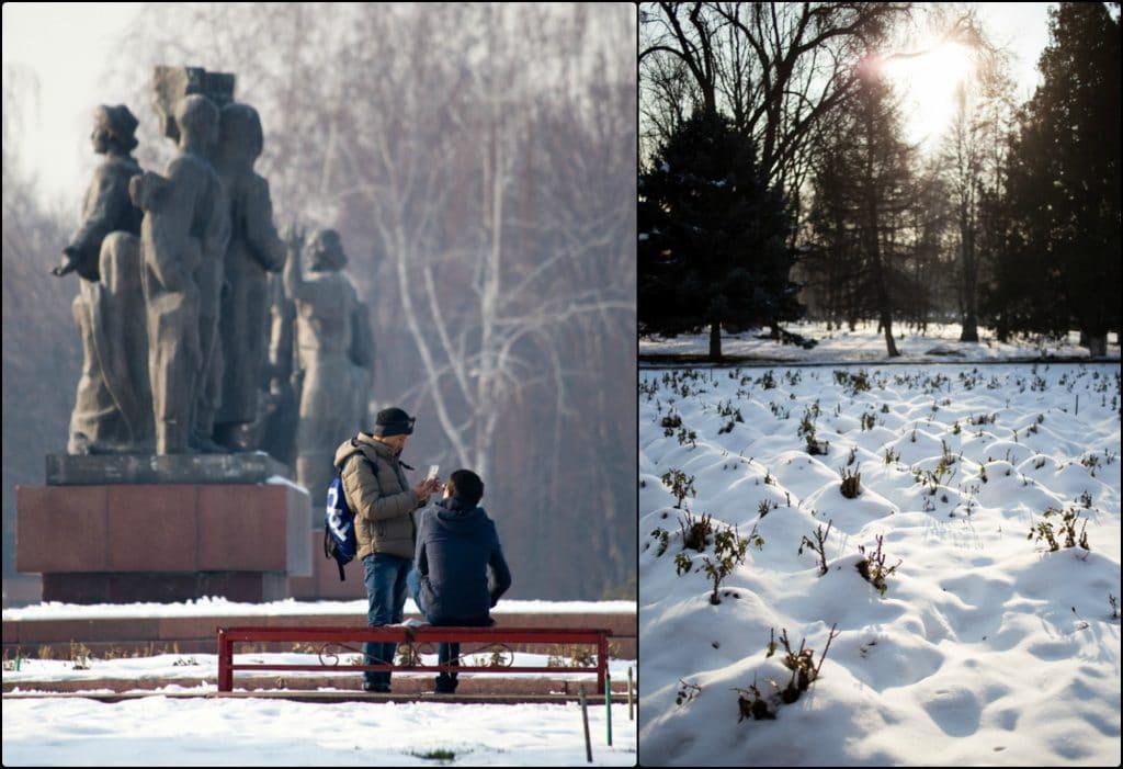 Bishkek in December