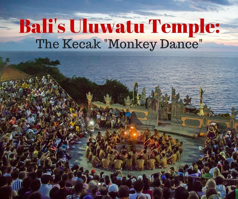 Bali's Uluwatu Temple Kecak Monkey Dance